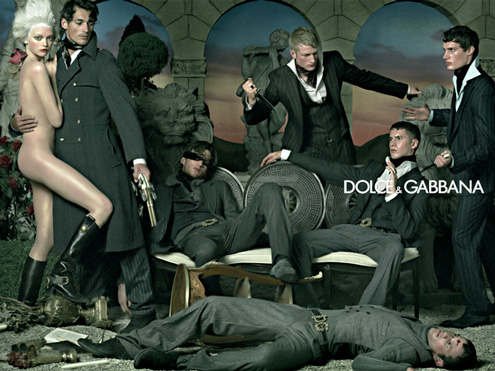Dolce & Gabanna: Lets do street violence in style, 2007