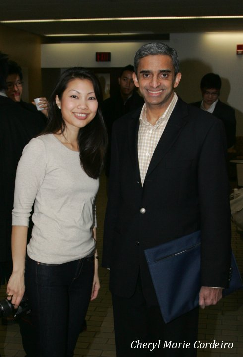 Cheryl Marie Cordeiro Nilsson and Vanu Gopala Menon, Wharton, University of Pennsylvania, USA 2011.