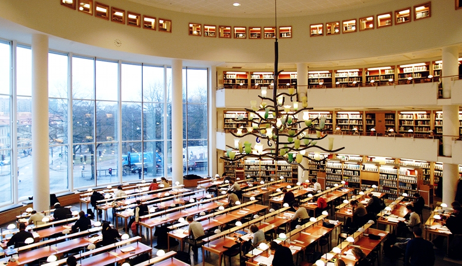 Business School library GU