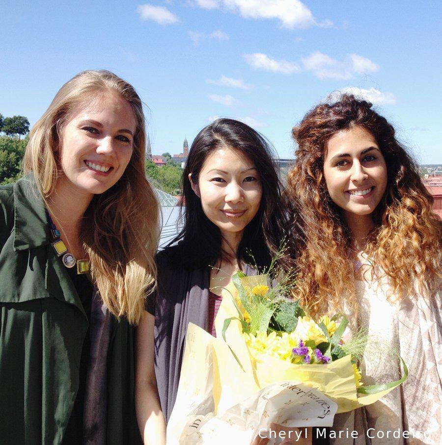 Maria Strandberg, Cheryl Marie Cordiero, Jasmin Denghani Malmsten Award 2015