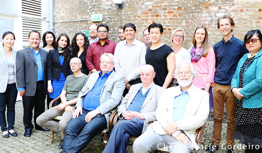 Cheryl Marie Cordeiro, Mark F. Petersen, Mikael Sondergaard, Geert Hofstede, Michael Minkov, Maastricht 2015 Netherlands