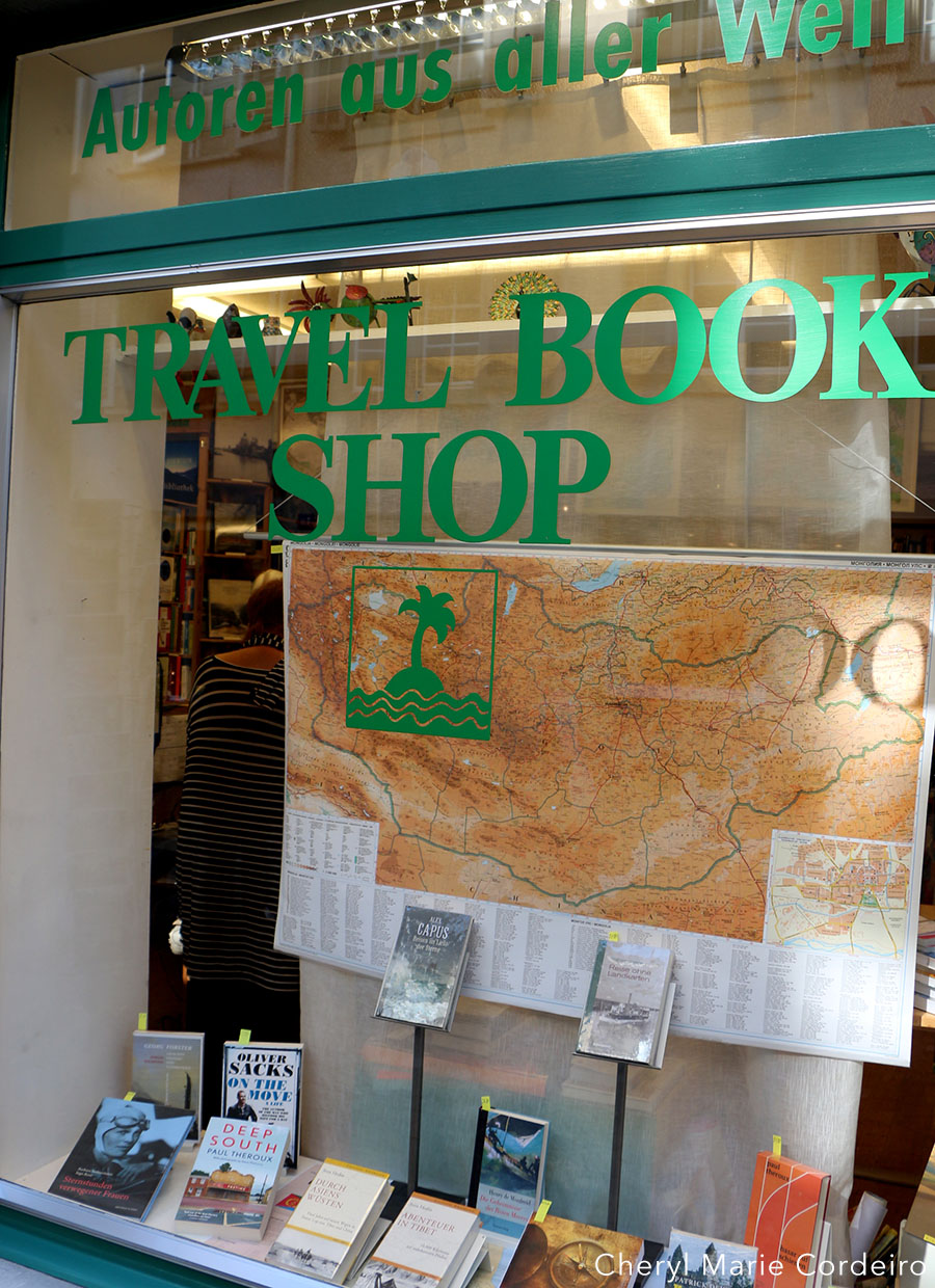 Travel Book Shop, Zürich, Switzerland