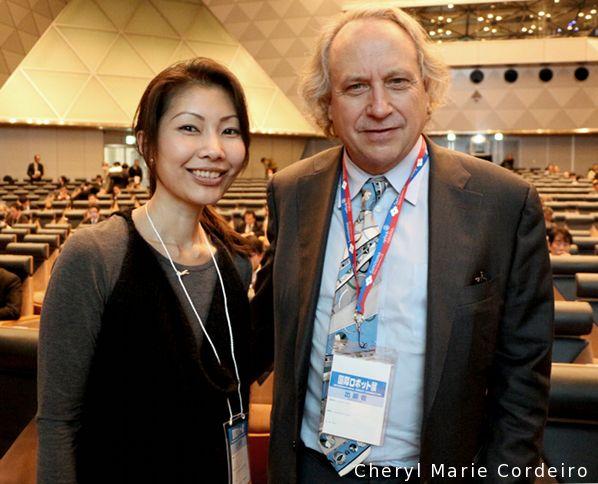 Cheryl Marie Cordeiro, Professor Emeritus Rodney Brooks, NEDO Robot Forum 2015, Tokyo