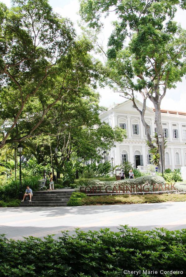 Fort Canning Park, by the Singapore Management University (SMU), 2016.